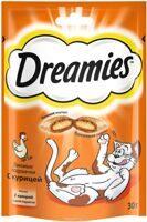 DREAMIES лакомство c курицей 30гр